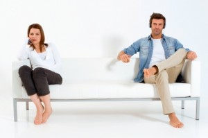 couple on couch 300x199 Low Conflict Marriages Cause Most Divorces. Solutions Are Simple.