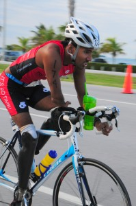rajesh durbal, world's first triple amputee to compete and Ironman, inspiration, overcoming obstacles