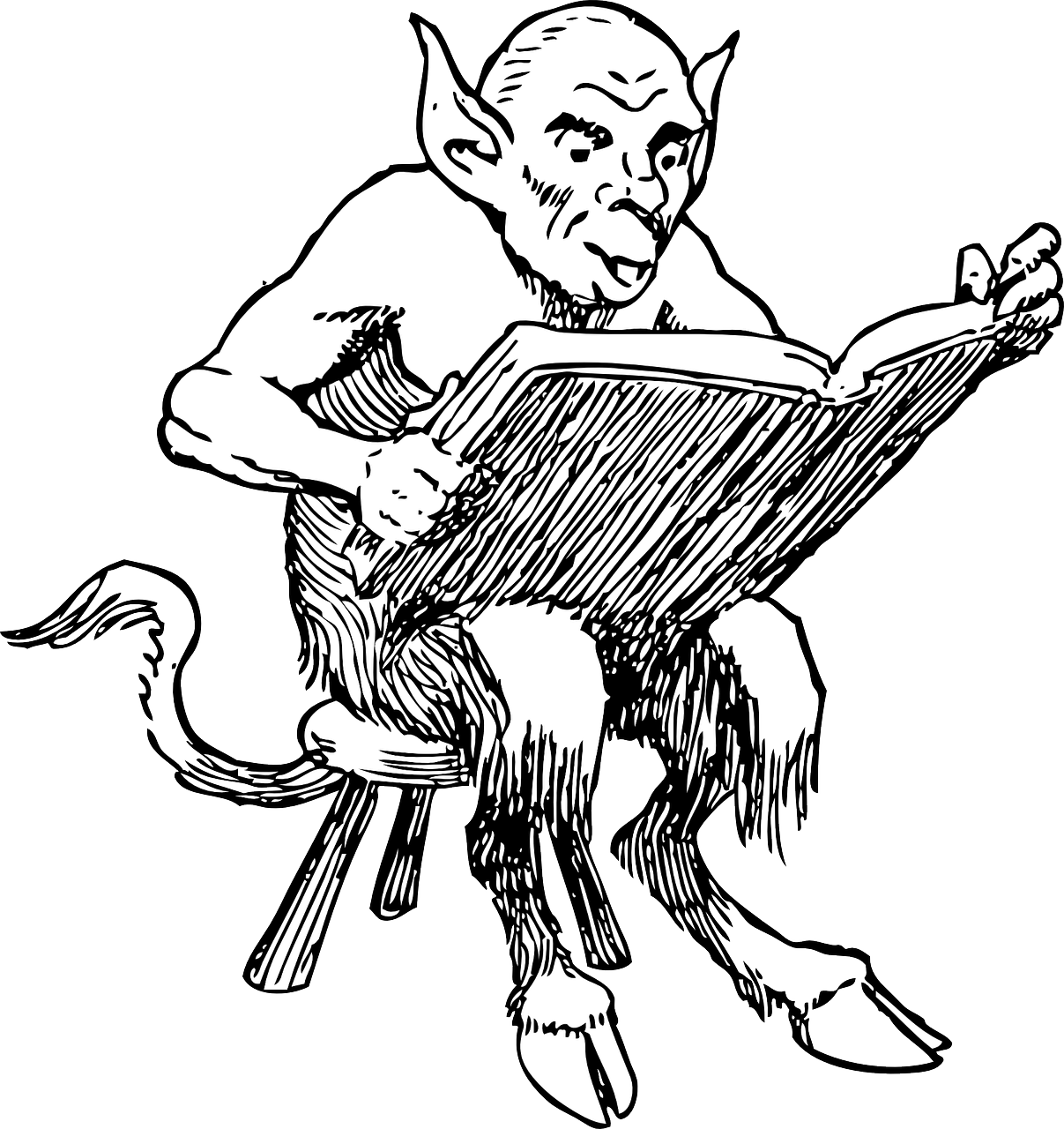 Separation of church and state, including Satan\'s coloring book