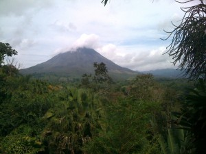 Arenal volcano, Costa Rica, Lost Iguana Resort